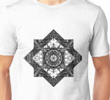 zentangle square Unisex T-Shirt