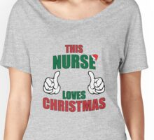 This Nurse Loves Christmas Women's Relaxed Fit T-Shirt