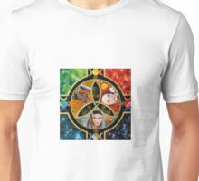 Triple Goddess Mandala by Marg Thomson Unisex T-Shirt