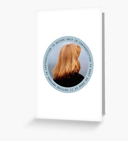 Dana Katherine Scully Greeting Card