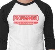 CNN - PROPAGANDA..dystopia Men's Baseball ¾ T-Shirt