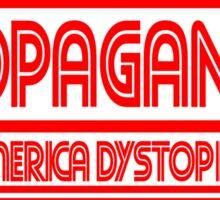 CNN - PROPAGANDA..dystopia Sticker