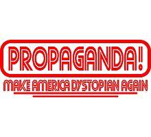 CNN - PROPAGANDA..dystopia Photographic Print
