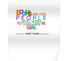 Books are for People.. Poster