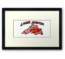 Lake Superior Agate Hunter Framed Print