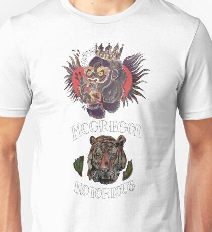 conor mcgregor (gorilla and tiger) Unisex T-Shirt