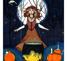 All Hallow's Eve by designedbylaura