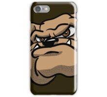 Fun Angry Cartoon Bulldog iPhone Case/Skin