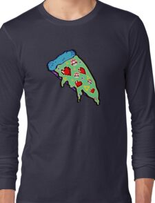 Pizza & Games ver.NationalPizzaDay Long Sleeve T-Shirt