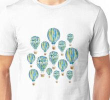 Watercolor Hot Air Balloons Unisex T-Shirt