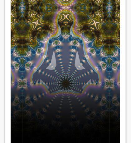 Fractal Meditation Visions Sticker