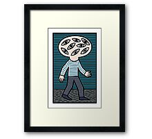 The man around town. Framed Print