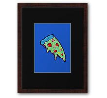 Pizza & Games ver.NationalPizzaDay Framed Print