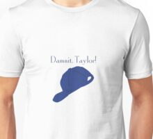 """Damnit Taylor!"" Luke Danes quote and hat Gilmore Girls Unisex T-Shirt"