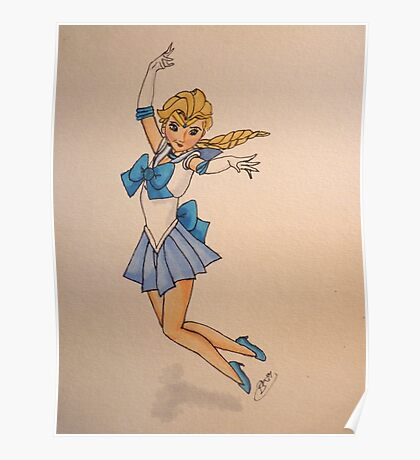 Sailor Snow Poster