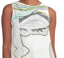 Artistic Expression by Nikki Ellina Contrast Tank