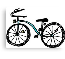 Bicycle Doodle Canvas Print