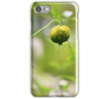 Seed Pod - Jupiter 9 Lens on EOS 7D iPhone Case/Skin