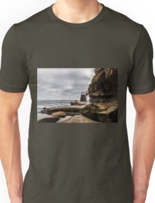 Storm Clouds over Surfer Stairway to Heaven Unisex T-Shirt