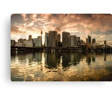 Dawn co. Canvas Print