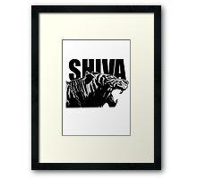 Shiva - V2 Framed Print