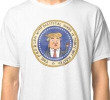 Commemorative Donald Trump Presidential Seal Classic T-Shirt
