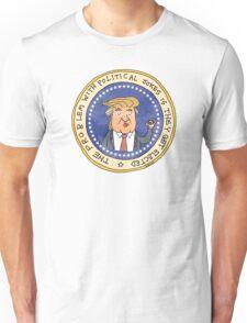 Commemorative Donald Trump Presidential Seal Unisex T-Shirt