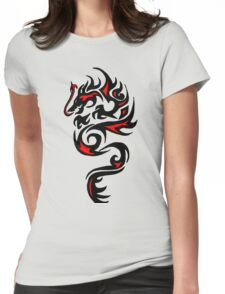 Dragon Red Womens Fitted T-Shirt