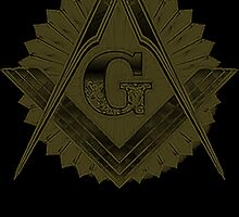 Freemason Logo: Gold and Grey by JoCa-byJoeCarr