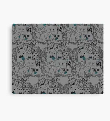 Monster Mash by Sleepertrain Canvas Print