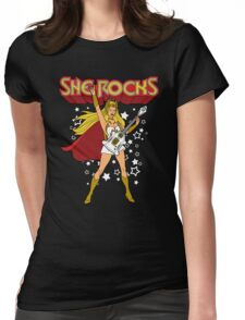 She Rocks Womens Fitted T-Shirt