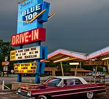 Blue Top Drive-In by Daniel Owens