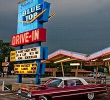 Blue Top Drive-In by Daniel Owens