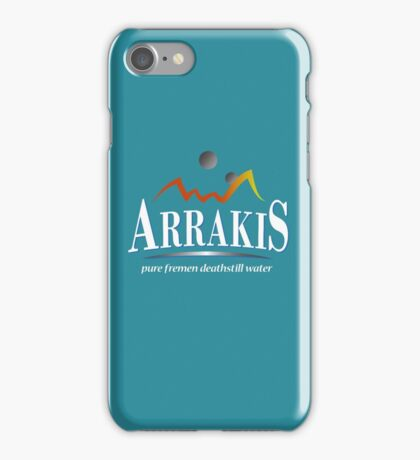 Arrakis Water Company (Dune) iPhone Case/Skin