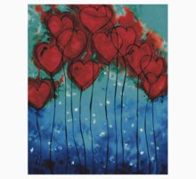 Hearts on Fire - Romantic Art By Sharon Cummings Kids Clothes