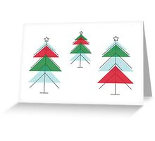MCM Christmas Tree Forest Greeting Card
