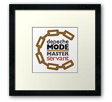 Depeche Mode : Master And Servant Framed Print