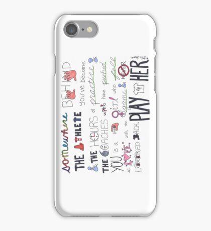 Mia Hamm Quote Art Phone Case iPhone Case/Skin
