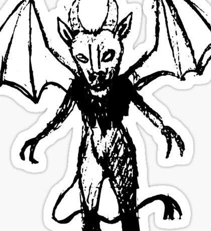 Inked Jersey Devil  Sticker