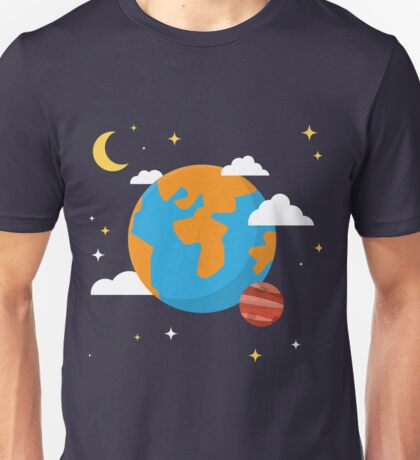 Earth Planet Unisex T-Shirt
