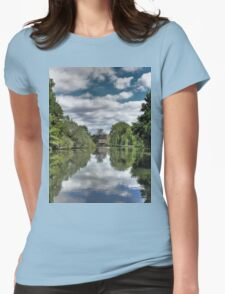 River Bure Wroxham to Coltishall Womens Fitted T-Shirt
