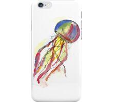 Watercolor Jellyfish iPhone Case/Skin