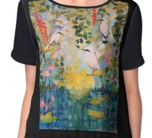 Morning Sun on the Island of the Gods Chiffon Top