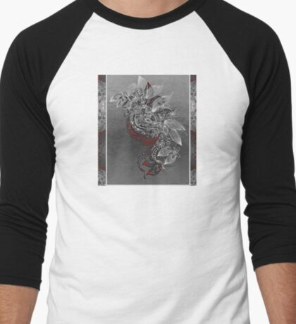 Earth Dance Men's Baseball ¾ T-Shirt