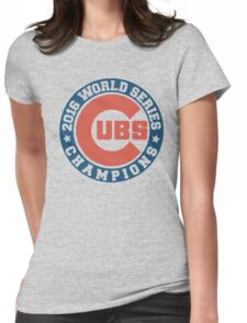 cubs 2016 Womens Fitted T-Shirt