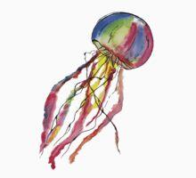Watercolor Jellyfish by Fernando Barrientos