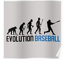 Evolution Baseball Poster