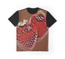 Cel Shaded Strawberries Graphic T-Shirt