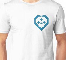 SKULL HEART (DARKBLUE) Unisex T-Shirt