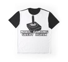 Make Gaming Great Again - Trump Gaming Graphic T-Shirt